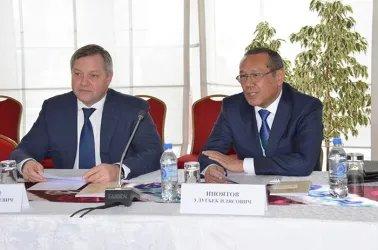 Встреча с председателем Демократической партии Республики Таджикистан