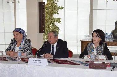 Встреча с руководством Социалистической партии Республики Таджикистан