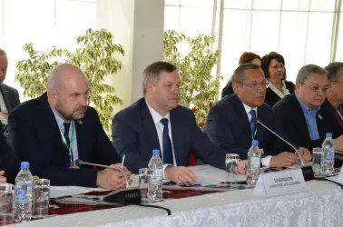 Встреча с председателем Народно-демократической партии Таджикистана