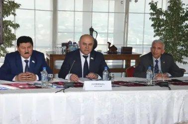 Встреча с председателем Аграрной партии Таджикистана
