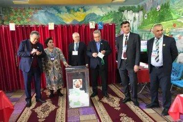 Международные наблюдатели от МПА СНГ на открытии избирательных участков, 01.03.2020