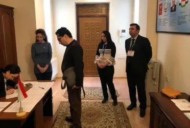 Избирательный участок в Баку