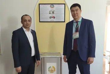 Избирательный участок в Бишкеке