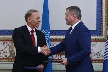 Подписание Меморандума о взаимопонимании между МПА СНГ и УВКБ ООН (5 июня 2019 года)
