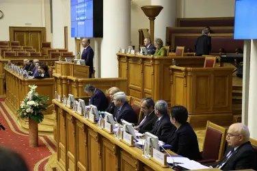 Пятидесятое пленарное заседание Межпарламентской Ассамблеи СНГ (22 ноября 2019 года)