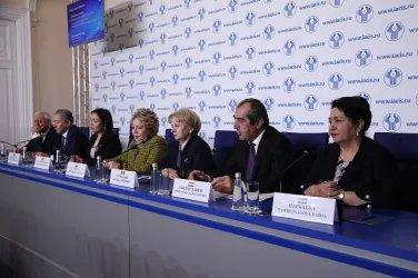 Пресс-конференция по итогам осенней сессии МПА СНГ (22 ноября 2019 года)