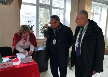 Международные наблюдатели от МПА СНГ ведут мониторинг выборов в Милли Меджлис Азербайджанской Республики (9 февраля 2020 года)
