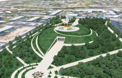 Новый парковый комплекс, посвященный памяти о Великой Победе, обещает стать одним из самых величественных и интересных мест в Ташкенте