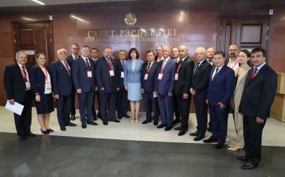 Встреча с руководством Совета Республики НС Республики Беларусь