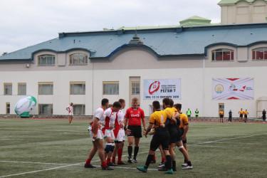 Кубок союзных государств по регби завоевала команда из Санкт-Петербурга