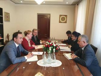 Встреча в штаб-квартире Народной Демократической партии Таджикистана
