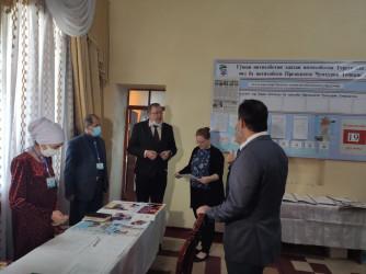 Посещение окружной избирательной комиссии № 7 в городе Турсунзаде