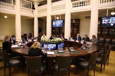 Заседание Постоянной комиссии МПА СНГ по политическим вопросам и международному сотрудничеству, 08.10.2020