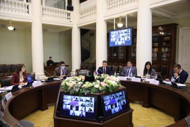 Заседание Молодежной межпарламентской ассамблеи государств – участников СНГ, 09.10.2020