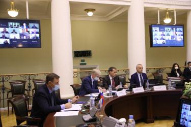 Заседание Постоянной комиссии МПА СНГ по аграрной политике, природным ресурсам и экологии, 22.10.2020