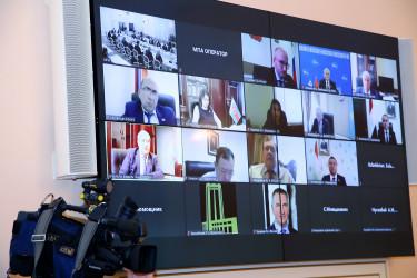 Заседание Постоянной комиссии МПА СНГ по изучению опыта государственного строительства и местного самоуправления, 23.10.2020
