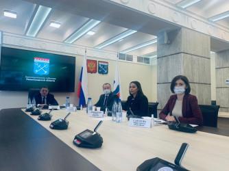Заседание в рамках образовательного проекта «Школа молодых законотворцев»
