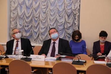 Заседание Постоянной комиссии МПА СНГ по экономике и финансам, 26.11.2020