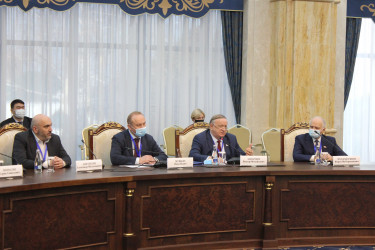 Встреча с исполняющим обязанности Президента Кыргызской Республики, 08.01.2021