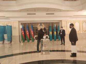 Зарубежный участки_выборы в Казахстане_10.01.2021