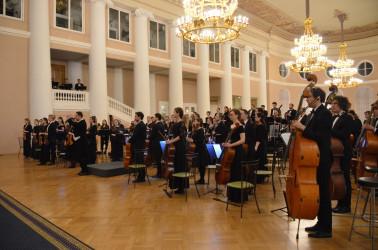 Концерт, посвященный 77-й годовщине полного освобождения Ленинграда от фашистской блокады, 27.01.2021