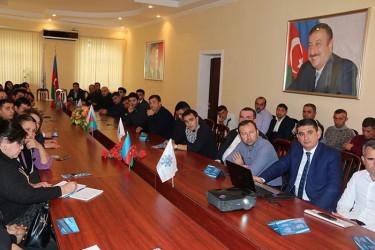 Бакинский филиал МИМРД МПА СНГ проводит семинар для местных наблюдателей на внеочередных выборах в Милли Меджлис Азербайджанской Республики, 31.01.2020