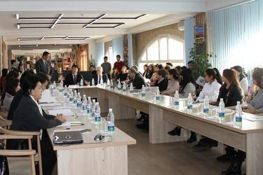 Бишкекский филиал МИМРД МПА СНГ проводит семинар «Основные принципы демократических выборов», 05.12.2019