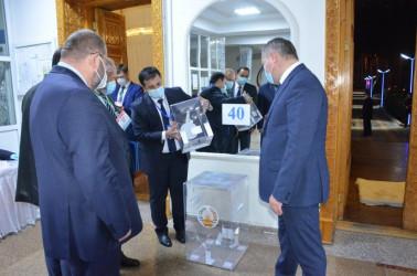 Наблюдатели от МПА СНГ присутствуют при открытии участков на выборах Президента Таджикистана, 11.10.2020