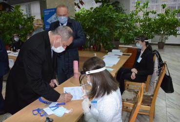 Наблюдатели от МПА СНГ на выборах Президента Республики Молдова, 15.11.2020