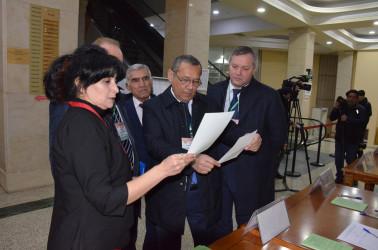В Азербайджанской Республике открылись избирательные участки — наблюдатели от МПА СНГ ведут мониторинг выборов, 09.02.2020