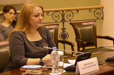 Начальник отдела мониторинга выборов МИМРД МПА СНГ Юлия Анисимова