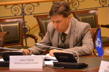 Начальник аналитического отдела МИМРД МПА СНГ Роман Амбурцев