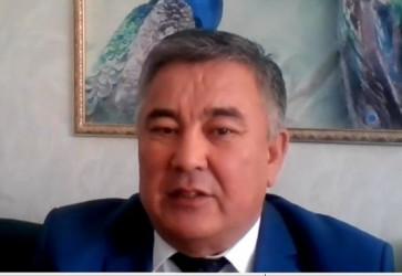 Профессор Академии государственного управления при Президенте Республики Казахстан по Алматинской области  Саркытбек Молдабаев
