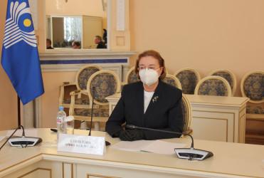 Заседание Экспертного совета при Постоянной комиссии МПА СНГ по правовым вопросам, 10.03.2021