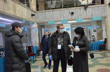 Мониторинг выборов в Мажилис Парламента Республики Казахстан (10 января 2021 года)