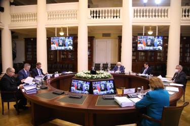 Пятьдесят первое пленарное заседание Межпарламентской Ассамблеи СНГ (27 ноября 2020 года)