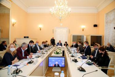 Заседание Постоянной комиссии МПА СНГ по изучению опыта государственного строительства и местного самоуправления (23 октября 2020 года)