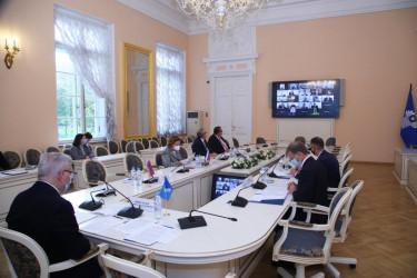 Заседание Постоянной комиссии МПА СНГ по вопросам обороны и безопасности (9 октября 2020 года)
