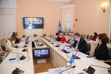 Заседание Постоянной комиссии МПА СНГ по науке и образованию (8 октября 2020 года)