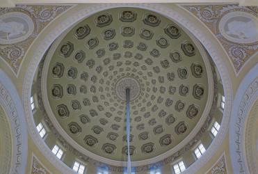 Внутренние залы Таврического дворца