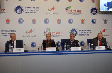 Пресс-конференция Международной конференции по исследованию космического пространства GLEX-2021