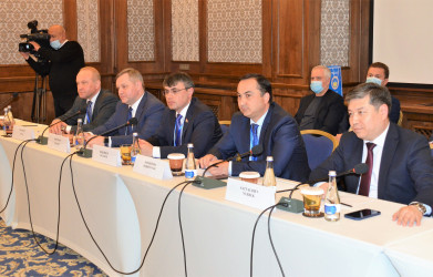 Встреча представителей МПА СНГ и ТЮРК ПА. 11 апреля 2021
