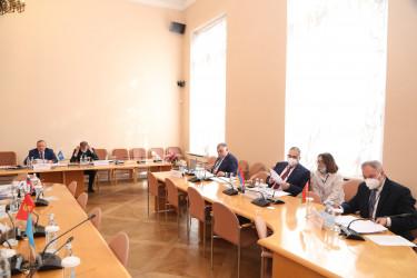 Заседание ПК МПА СНГ по вопросам обороны и безопасности, 15.04.2021