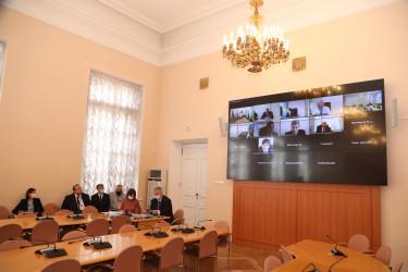 Заседание Объединенной комиссии при МПА СНГ по гармонизации законодательства в сфере безопасности, 15.04.2021