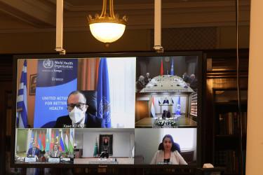 Пятьдесят второе пленарное заседание МПА СНГ, 16.04.2021
