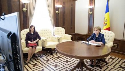 Председатель Парламента Республики Молдова Зинаида Гречаный