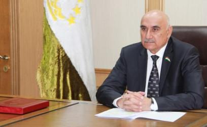 Председатель Маджлиси намояндагон Маджлиси Оли Республики Таджикистан Махмадтоир Зокирзода