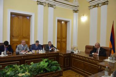Наблюдатели от МПА СНГ провели встречи с политическими партиями Республики Армения. 19.06.2021