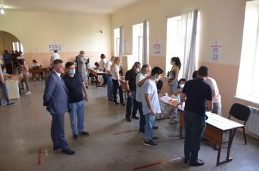 Открытие участков на досрочных парламентских выборах в Республике Армения. 20.06.2021