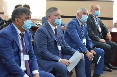 Международные наблюдатели от МПА СНГ посетили Центральную избирательную комиссию Республики Молдова 10.07.2021